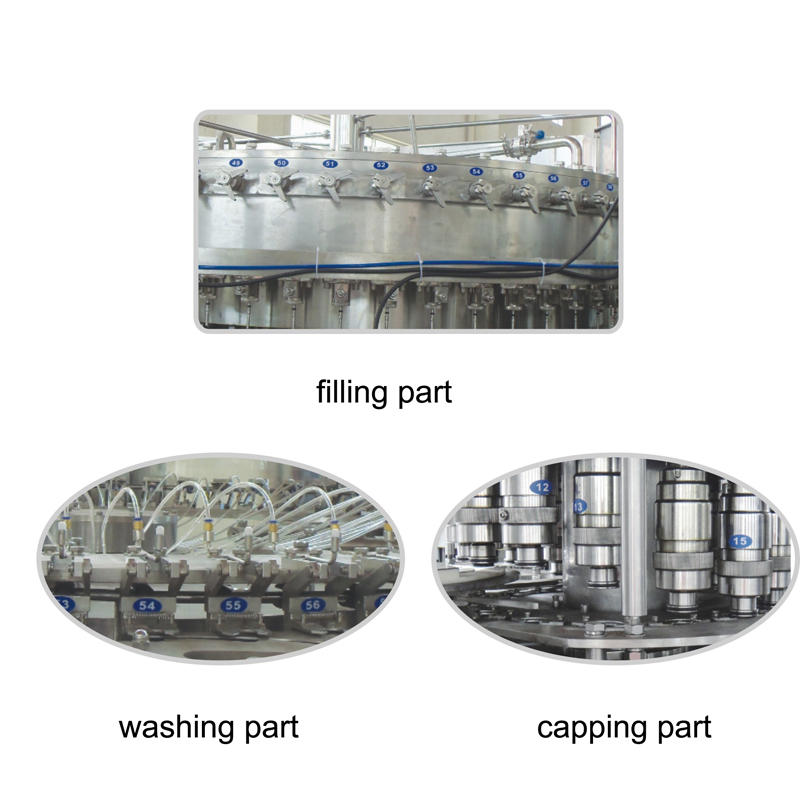 J&D WATER water packing machine convenient for tea