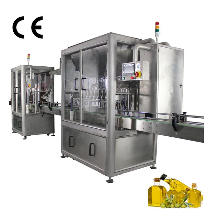 Автоматическая машина для наполнения и запайки оливкового масла JND