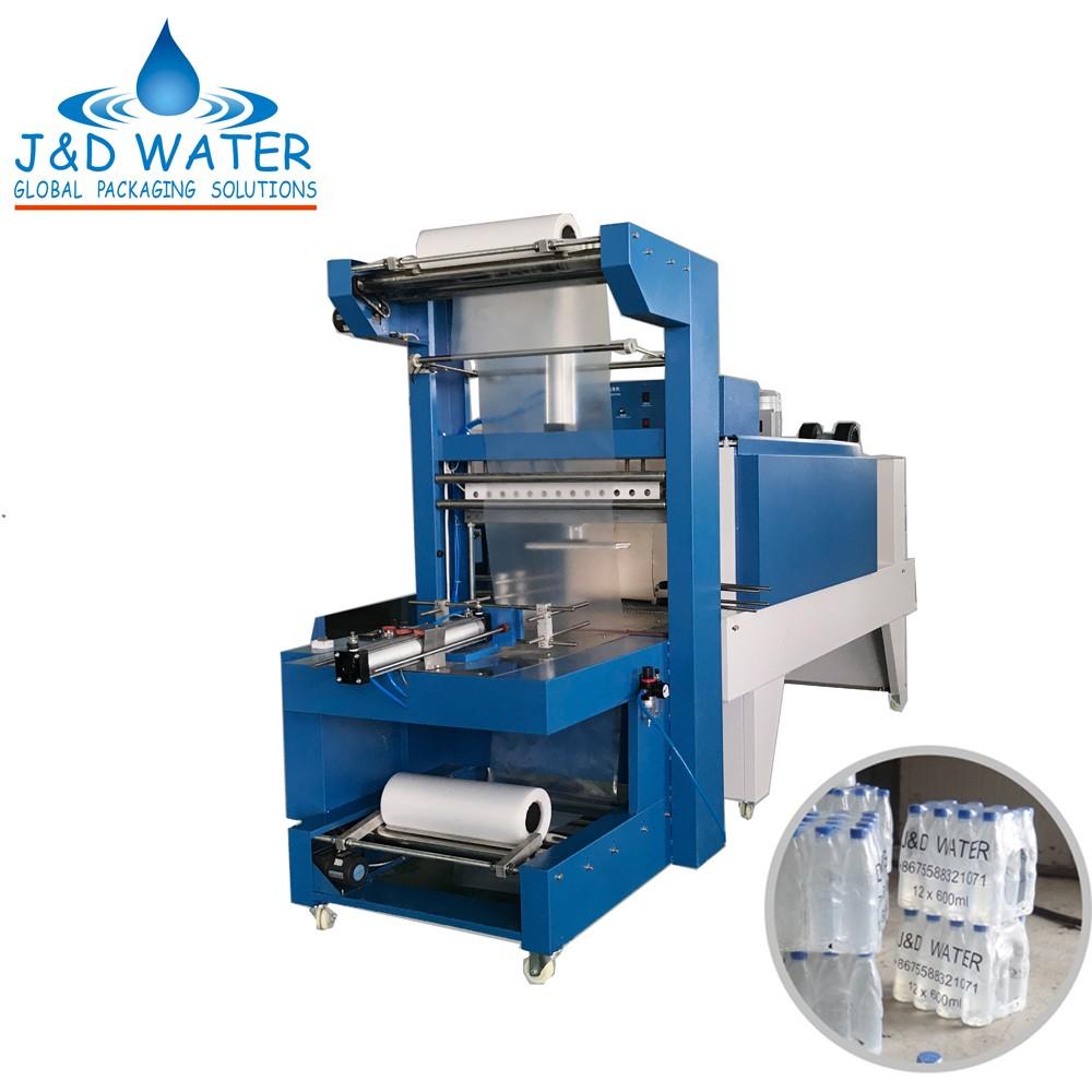 JD WATER-Semi-auto Shrink Packing Machine - Jd Water Beverage Machine