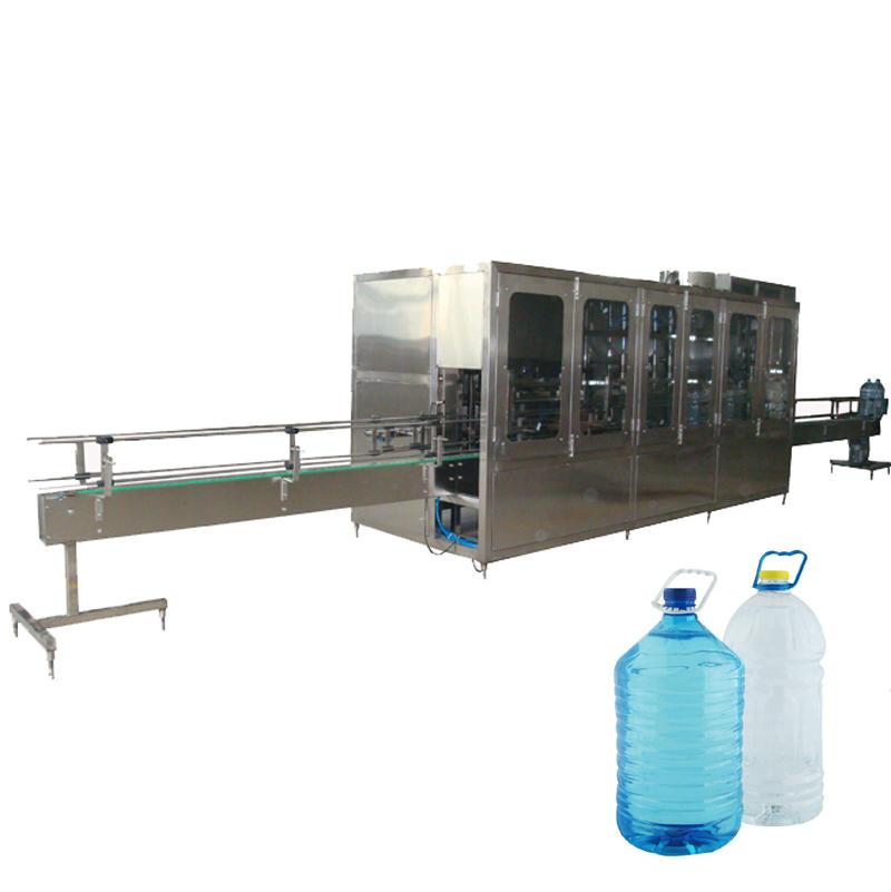 Автоматическая укупорочная машина для наполнения бутылок 3-10 л