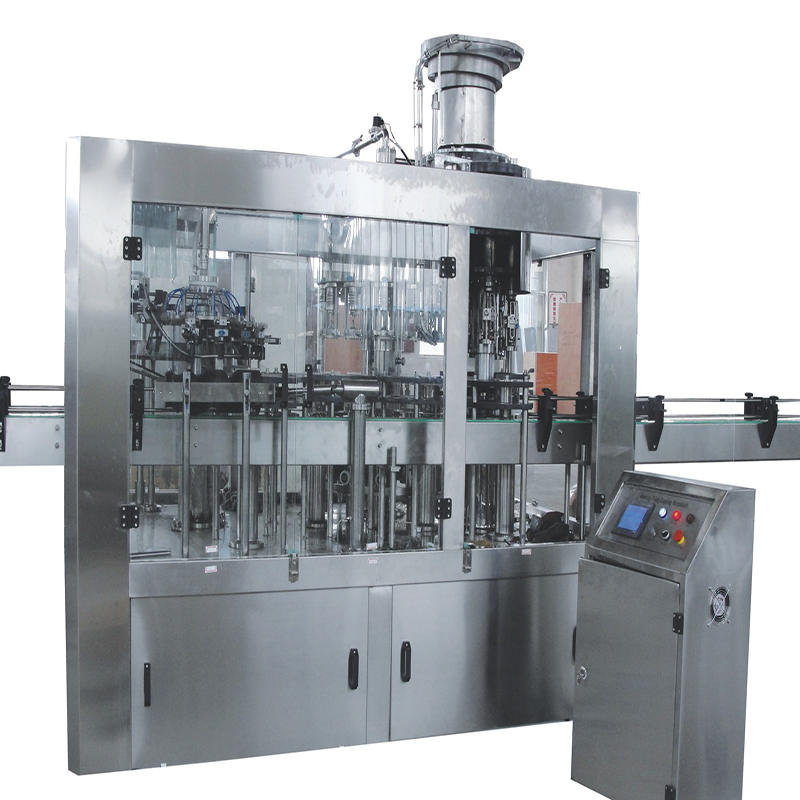 1000-3000 bph automatic glass small bottle washing &filling&capping machine