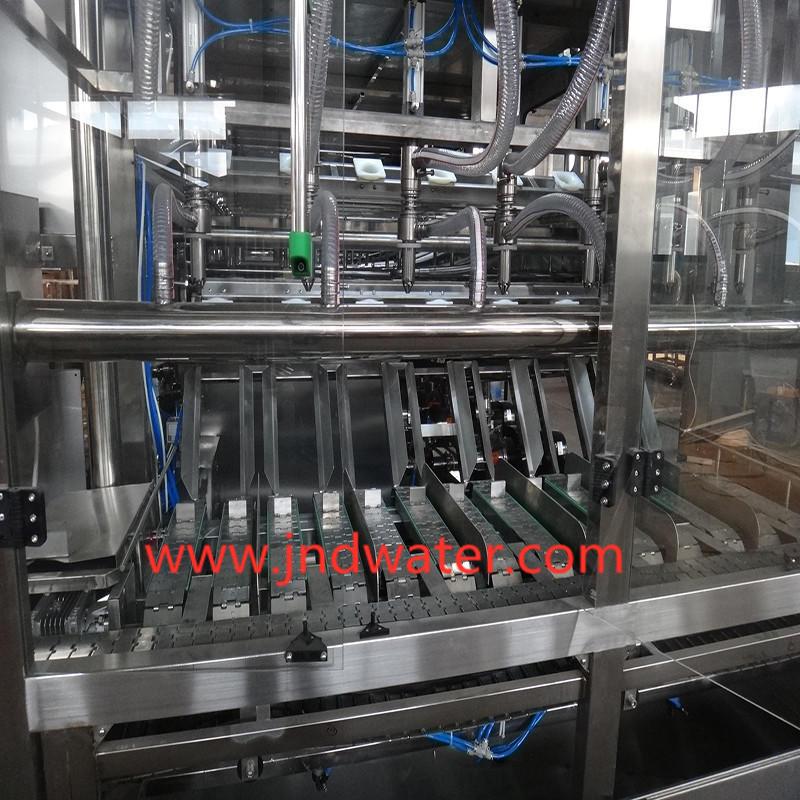 Автоматическая укупорочная машина для бутылок JNDWATER 5 галлонов