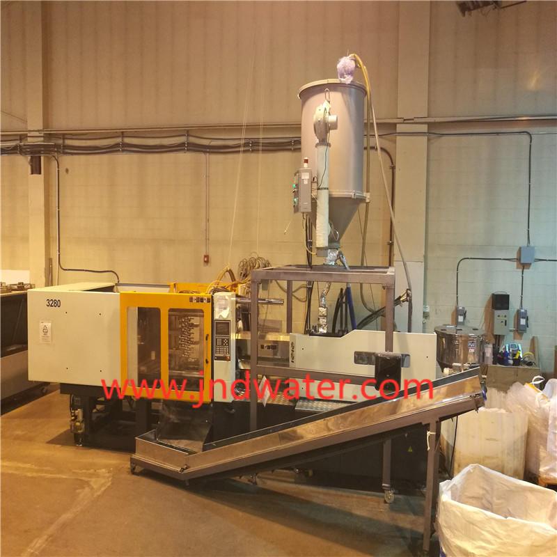Máquina de moldeo por inyección de plástico para preformas y tapas
