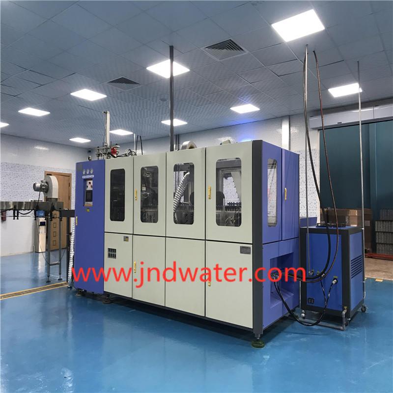 JNDWATER Económico Estiramiento automático de botellas de plástico máquina de golpe