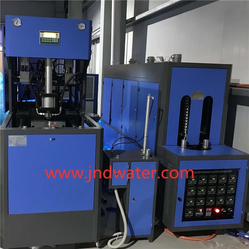 Полуавттоматическое оборудование для выдува 19 литров ПЕТ бутылки