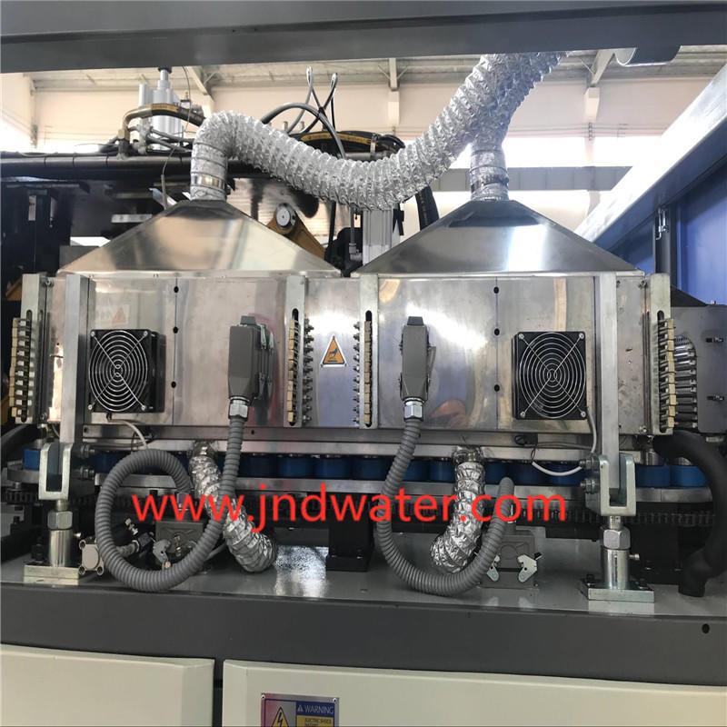 Máquina de moldeo por soplado de plástico automático de botella plástica JNDWATER 5L