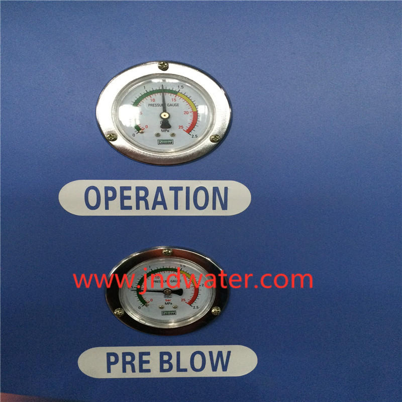 plastic blow moulding machine machine semiauto blow J&D WATER Brand company