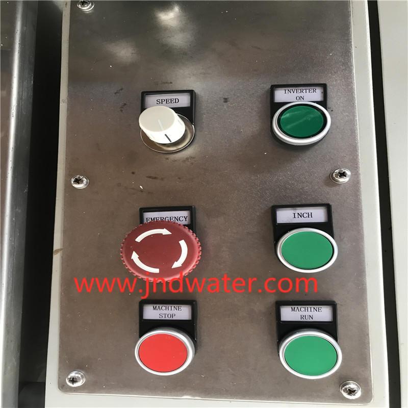 glue bottle machine cold bottle labeling machine J&D WATER