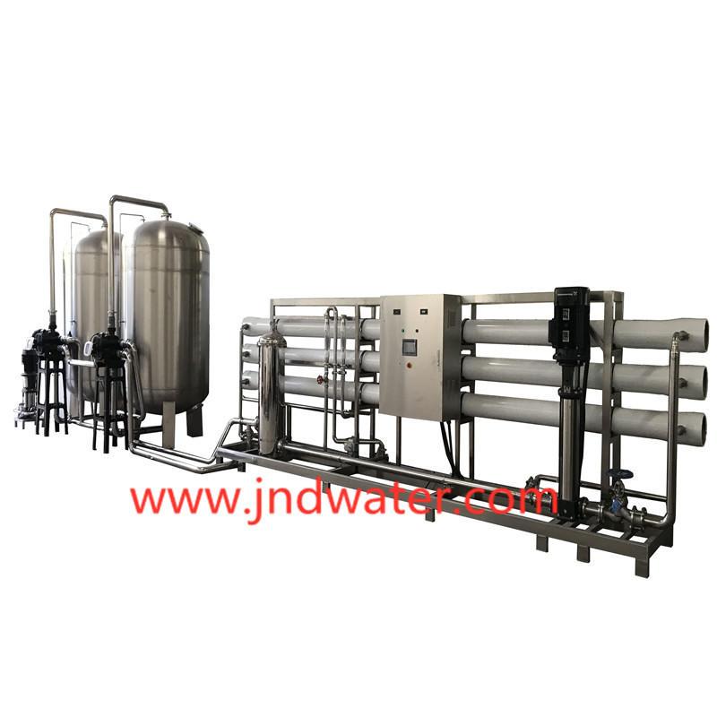 JNDWATER Machine de traitement de l'eau par osmose inverse en acier inoxydable