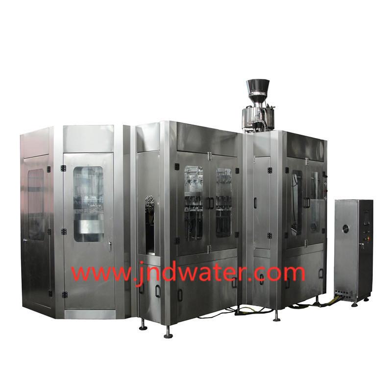 Máquina que capsula de relleno que se lava carbonatada de la serie de JND
