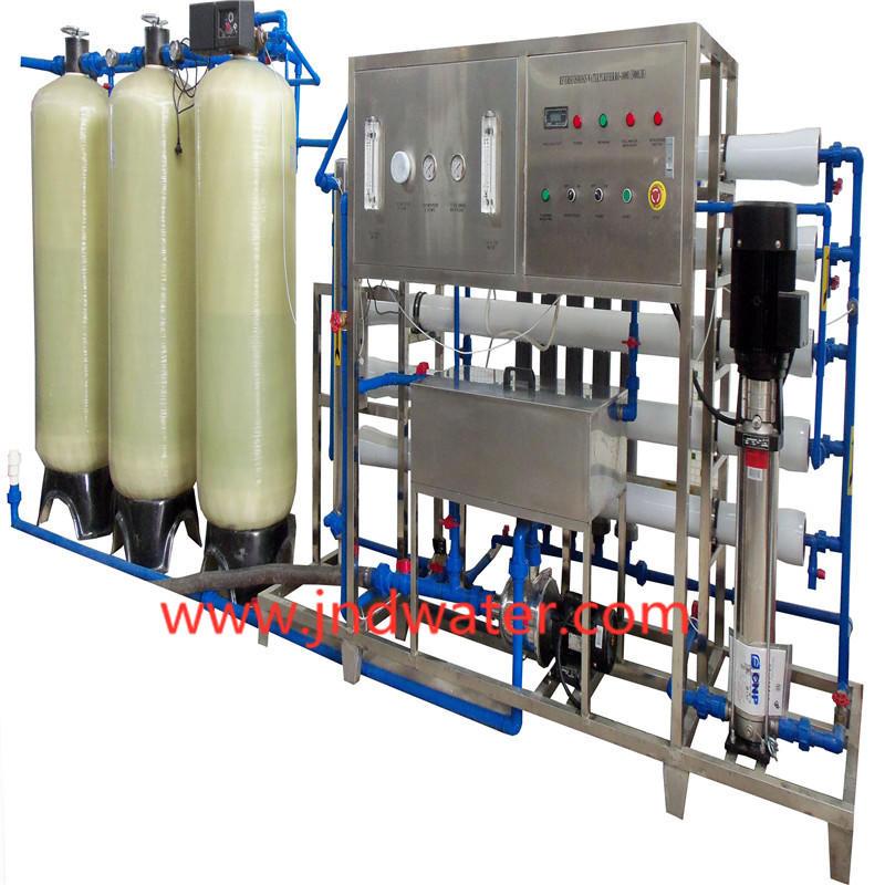 JNDWATER RO Equipemnt Traitement De L'eau Pour Réservoir En Verre