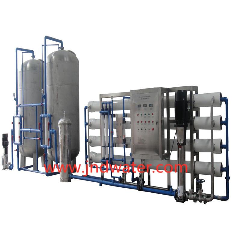 JNDWATER Tipo económico de acero inoxidable de del equipo del tratamiento de aguas del RO del tanque