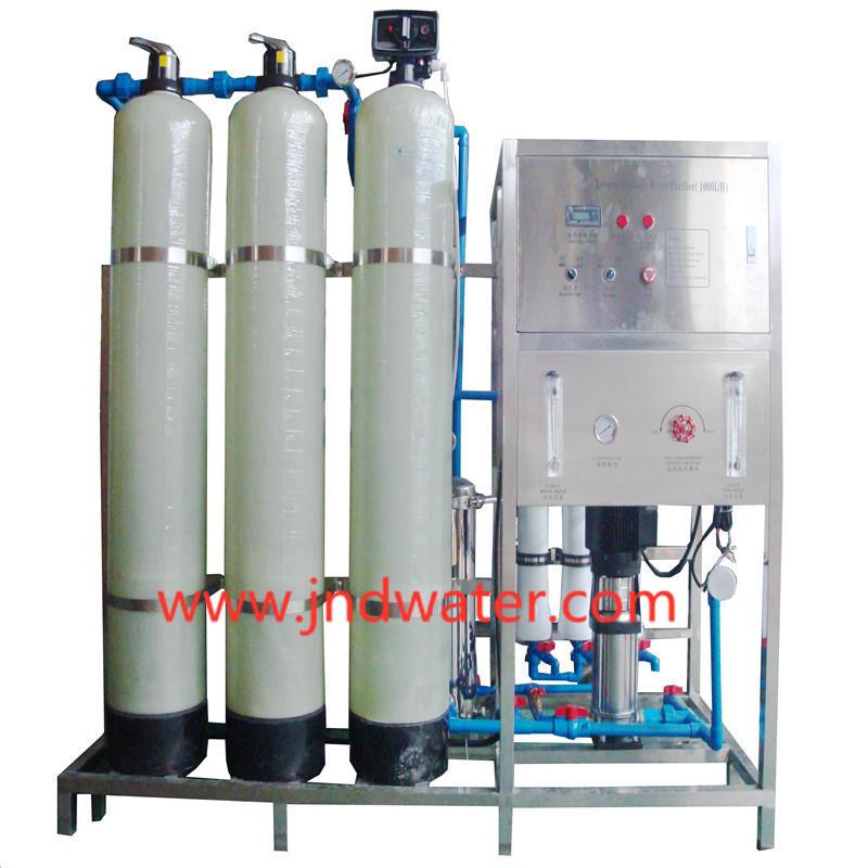 JNDWATER Traitement de l'eau par système d'osmose inverse dans des réservoirs en verre