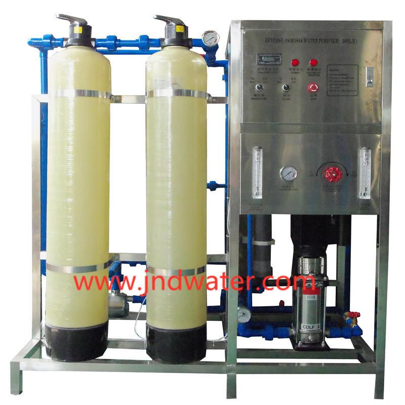 JNDWATER Glass Tank RO Machine à filtre à eau