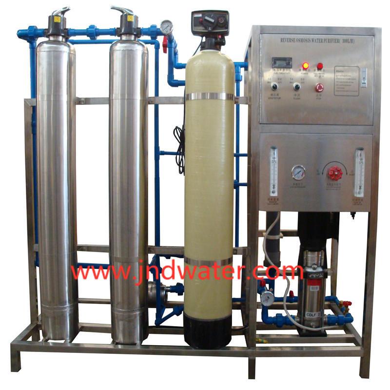 JNDWATER Machine à osmose inverse avec réservoir en acier et verre