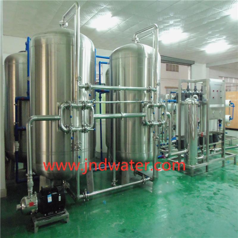 Машинное оборудование завода минеральной воды JNDWATER с нержавеющей сталью