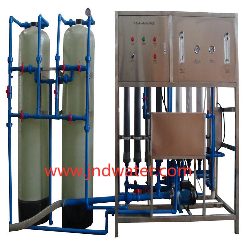 Машина для производства минеральной воды JNDWATER со стеклянным резервуаром