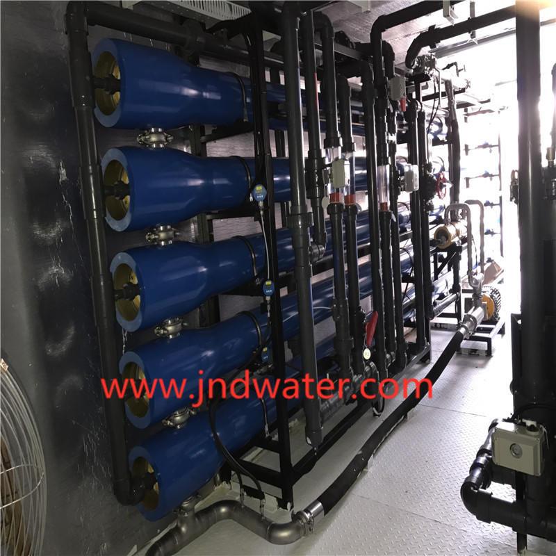 JNDWATER Equipo de desalinización de agua de tipo económico.