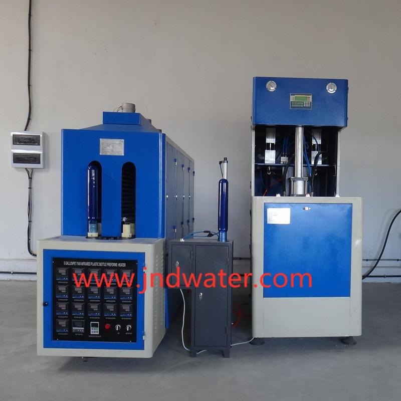 Machine de moulage par soufflage semi-automatique pour bouteille de 5 gallons