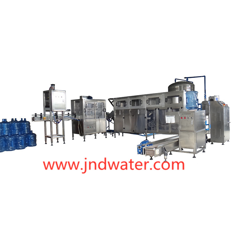 JD WATER-Best 5 Gallon Bottle Washing Filling Capping Machine Manufacture
