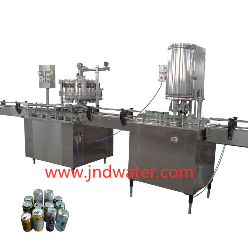 JD WATER-JNDWATER 1000-20000cph Can Filling Sealing Machine Canning Machine-1
