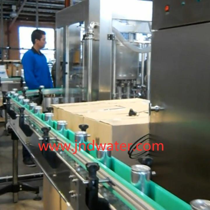 JD WATER-JNDWATER 1000-20000cph Can Filling Sealing Machine Canning Machine