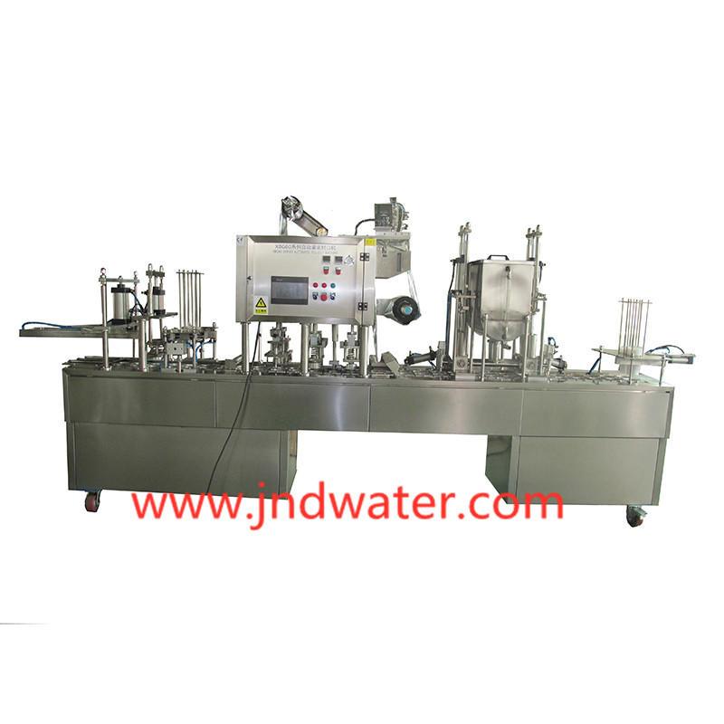 Machine de remplissage et de fermeture automatique de gobelets