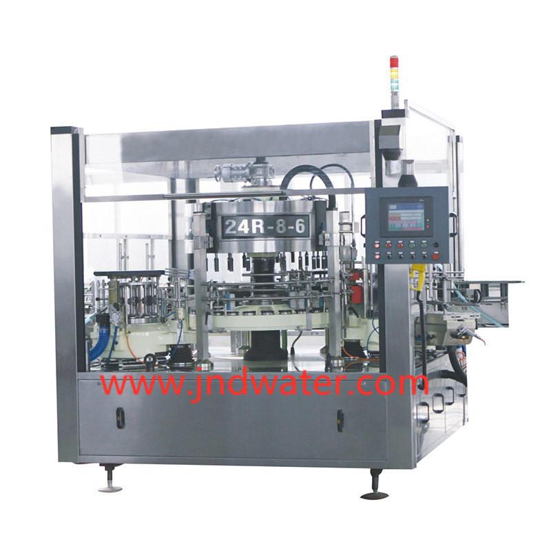 Machine à étiquettes automatique de bouteille de colle froide