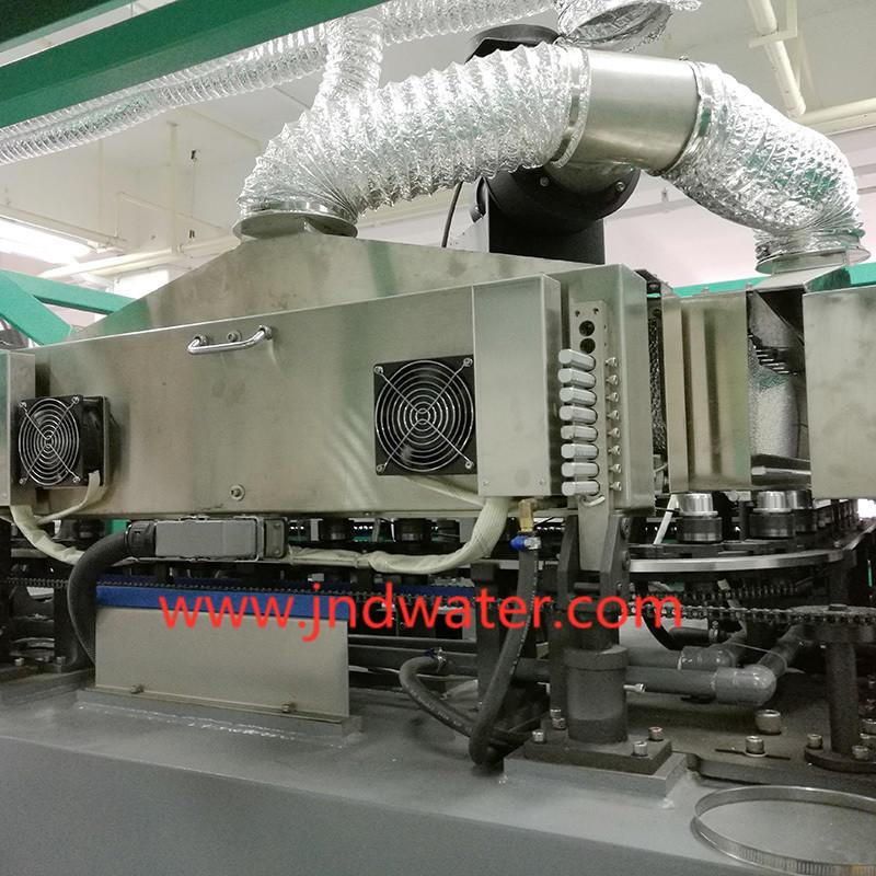 Máquina automática de soplado de botellas de estiramiento de alta velocidad