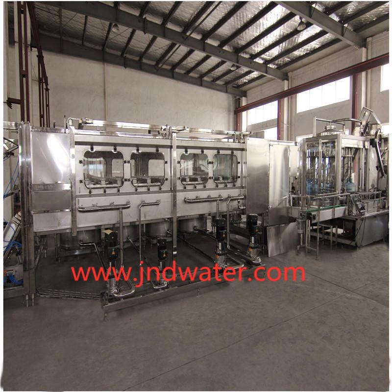 JNDWATER Machine de capsulage remplissante de lavage de bouteilles automatique de 5 gallons