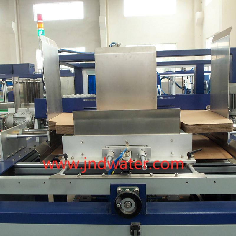 Машина для обертывания картонной упаковки
