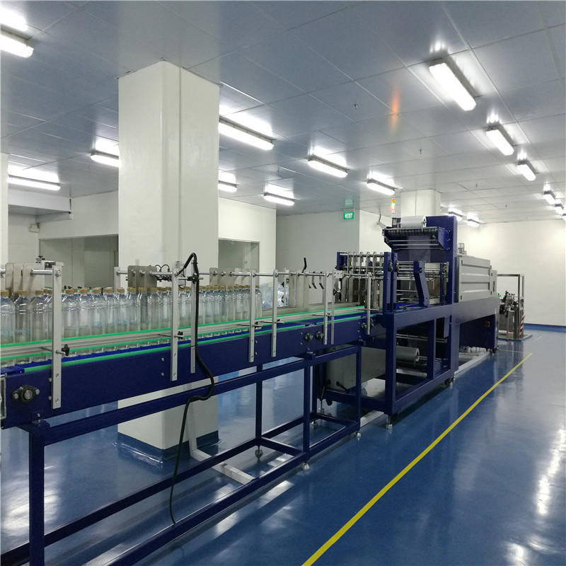 JNDWATER JND-200A Auto Shrinkable Film Wrap Packing Machine