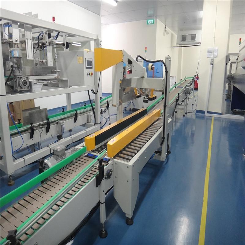 JD WATER-JNDWATER JND-15A Automatic Carton ErectingCartingSealing Machine-1