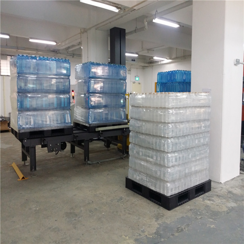 JD WATER-Best Pallet Wrapping Machine Jndwater Automatic Pallet Stretch Wrapping