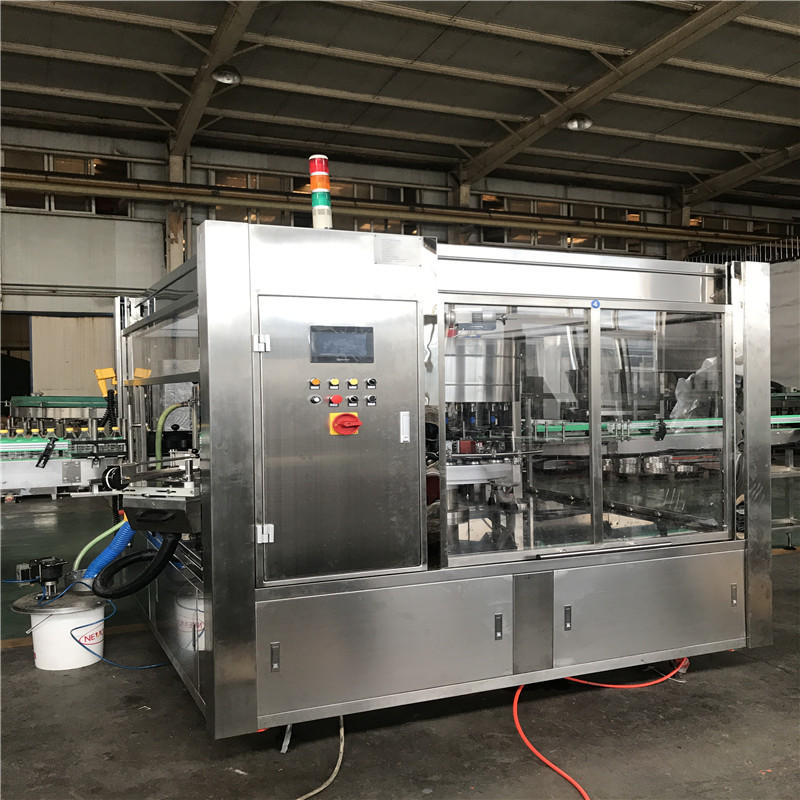 JNDWATER Automatic Cold Glue Rotary Bottle Labeling Machine JND-M