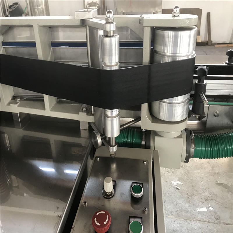 JNDWATER Linear Bottle sticker Labeling Machine With Cold Glue