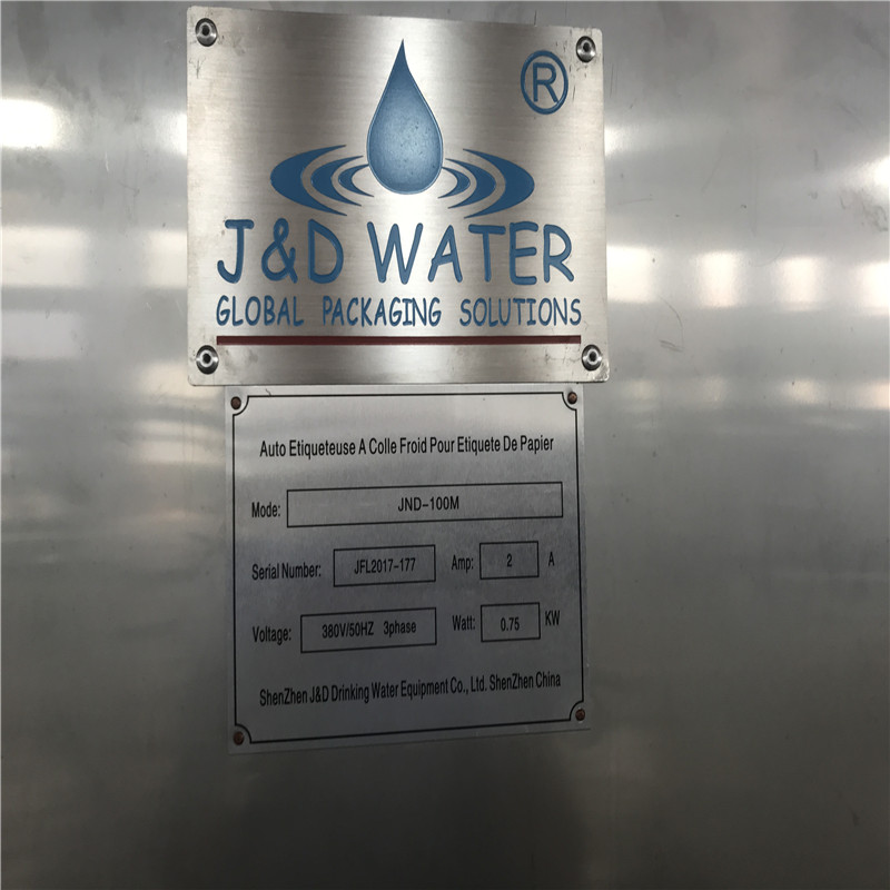 JD WATER-Find Semi Automatic Labeling Machine Linear Bottle Sticker Labeling Machine