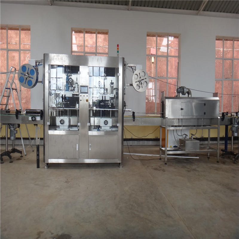 J&D WATER High Speed automatic labeling machine quickly for metal container