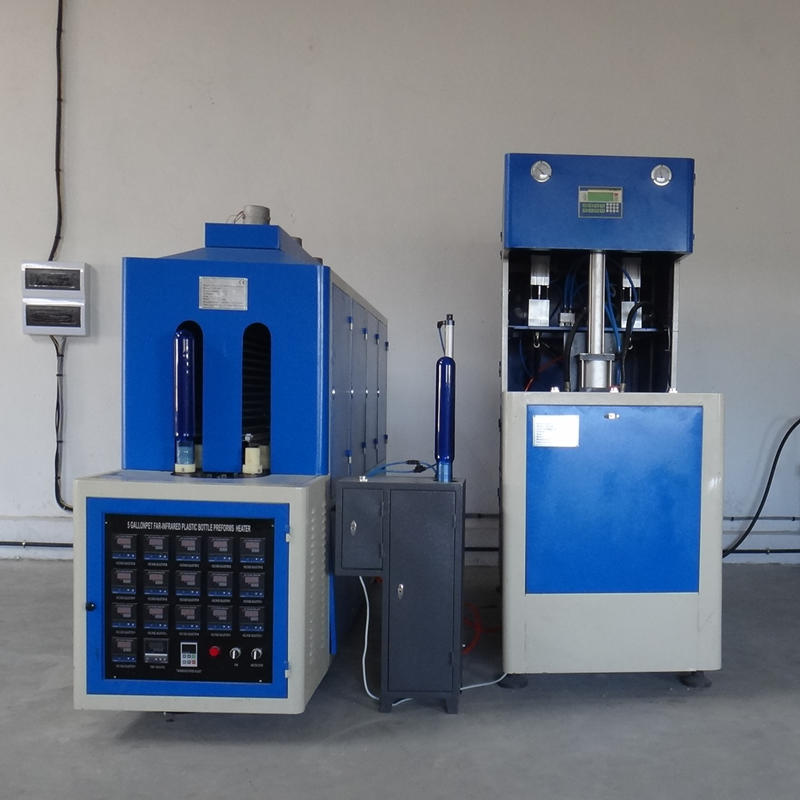 JNDWATER Semi-auto Water Bottle Blowing Molding Machine for 1 Gallon&2 Gallon &3 Gallon Bottle