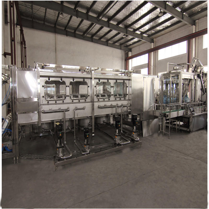 JNDWATER Automatic 5 Gallon Bottle Washing Filling Capping Machine