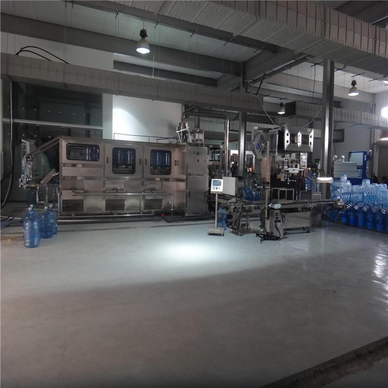 larger capacity bottling equipment factory for tea