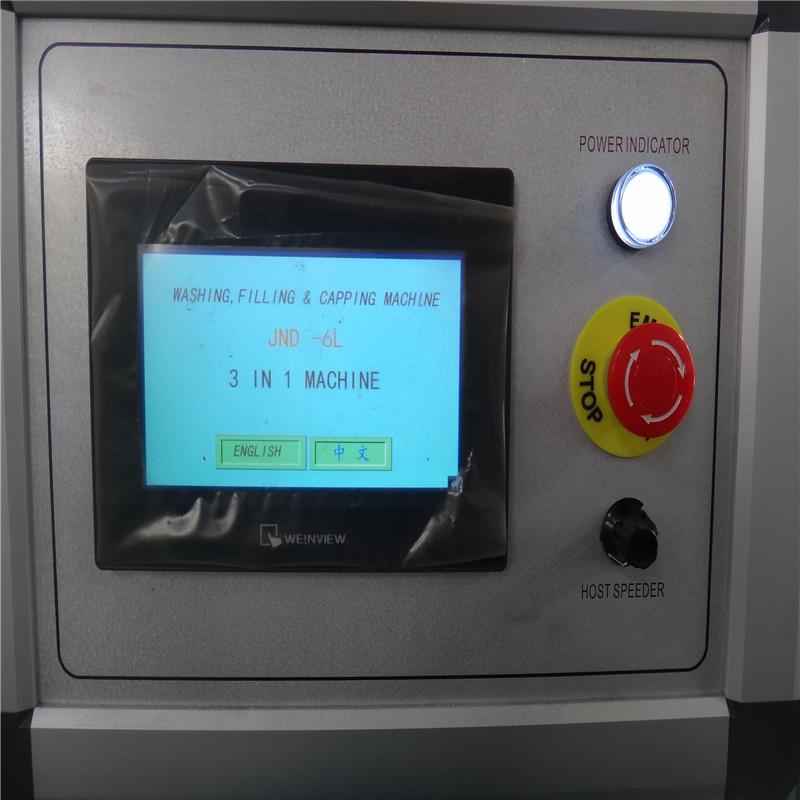 JD WATER-Best 3-10l Bottle Washing filling capping Machine Wine Filling Machine