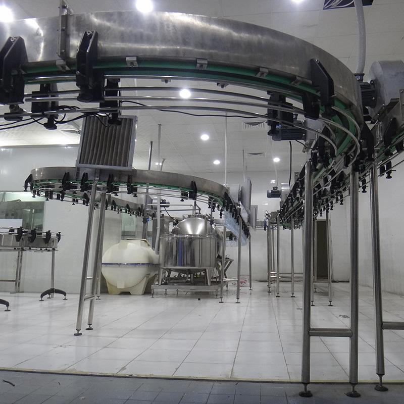 JD WATER-Beverage Conveyor Bottle Air Conveyor -JD WATER-1