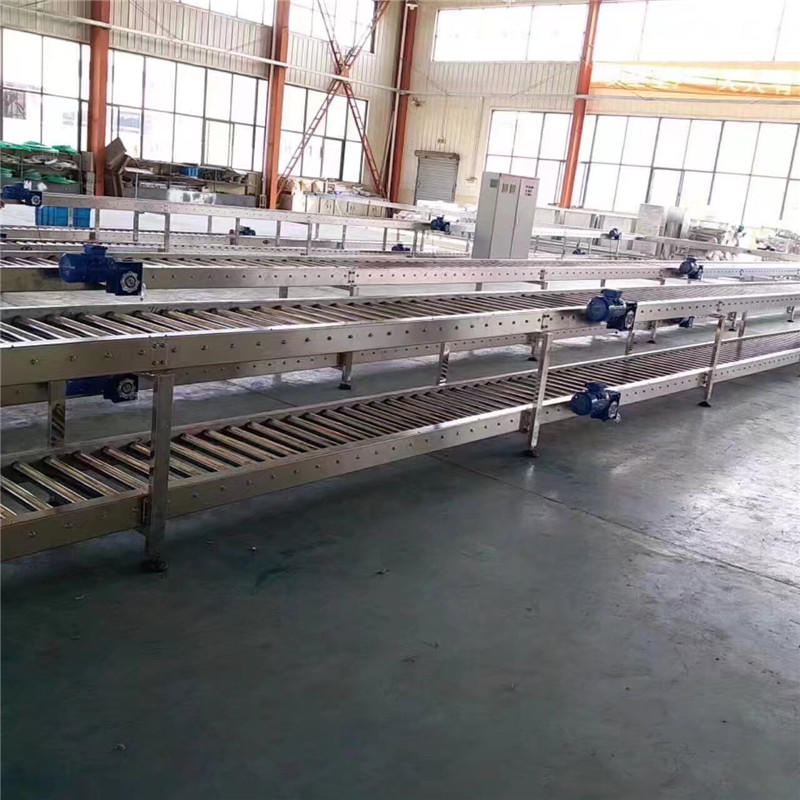 JNDWATER Gravity Steel Roller Conveyor For Transfer