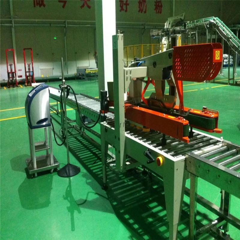 JNDWATER Автоматическая стальная роликовая конвейерная система