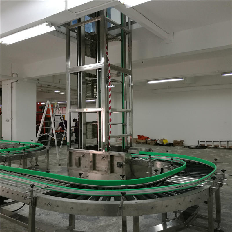 JNDWATER Stainless Steel Roller Conveyor System
