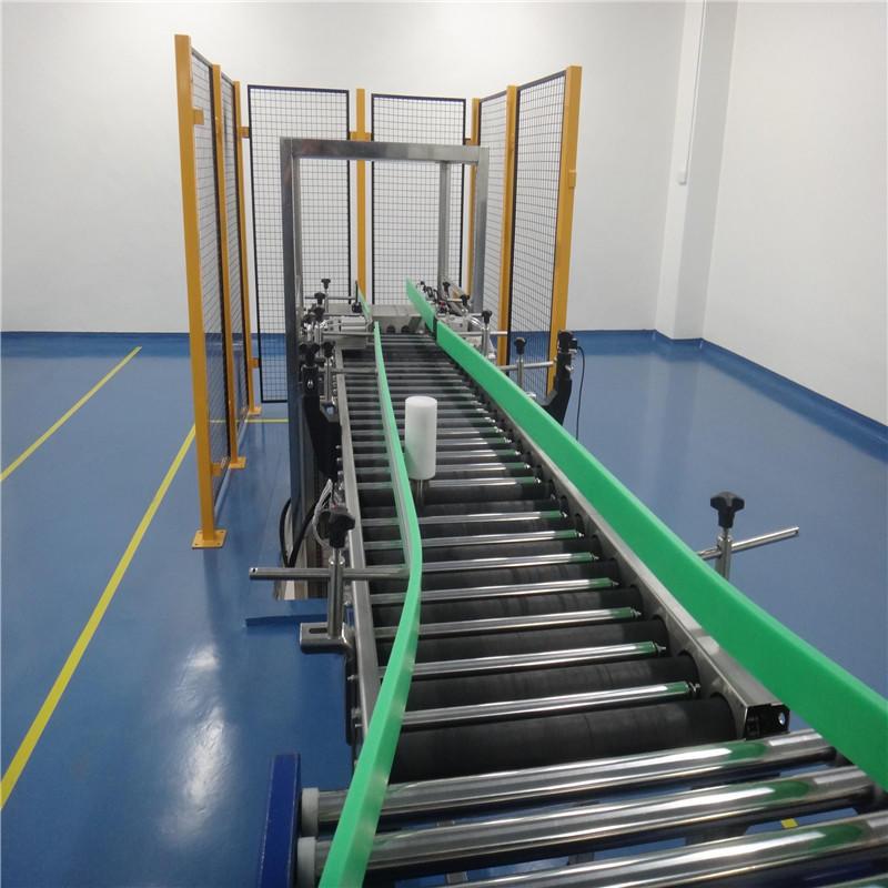 JNDWATER стальной гравитационный конвейер приводной роликовый конвейер