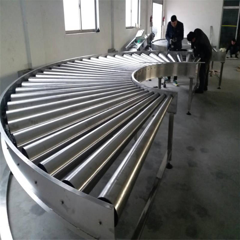 Powered Roller Conveyor JNDWATER Gravity Conveyor