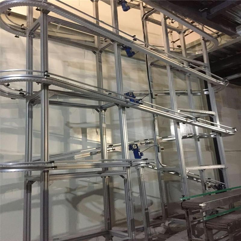 Climbing Conveyor Belt JNDWATER Slat Conveyor