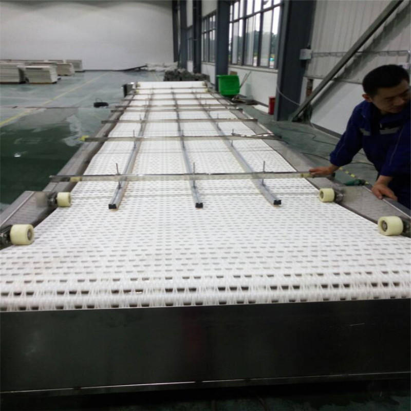 Plastic Conveyor Belts JNDWATER Slat Chain Conveyor